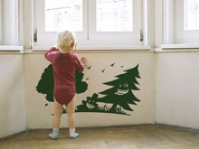 Jolly Forest wall sticker