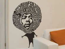Jimmy wall sticker