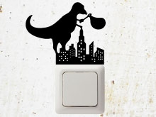 T-rex wall sticker